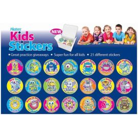Piksters Stickers - 210 Stickers Per Box