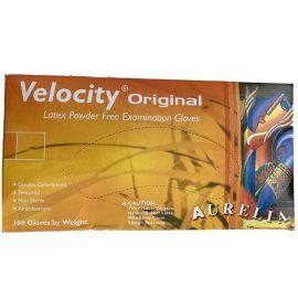 Aurelia Velocity Extra Small Powder Free Latex Gloves - Pack Of 100