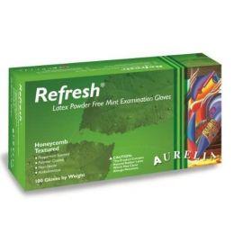 Aurelia Refresh Latex Powder Free Large Glove - 100 Gloves Per Pack