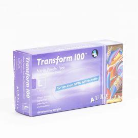 Aurelia Transform Nitrile Powder Free Gloves Large - Pack Of 100