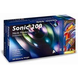 Aurelia Sonic Nitrile Powder Free Cobalt Blue Gloves Large - Pack Of 200