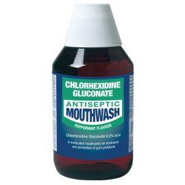 Chlorhexidine Gluconate Peppermint Mouthwash 300ml