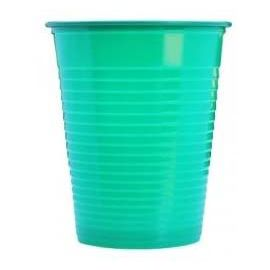 Plastic Disposable Beakers -  180 ml - 3000 Pack Green