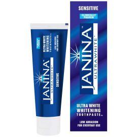 Janina Ultra White Low Abrasion Sensitive Whitening Toothpaste 75ml