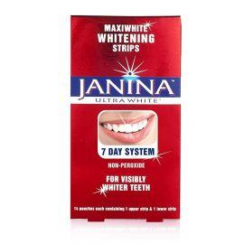 Janina Ultra White Maxiwhite Whitening Strips - Pack Of 14