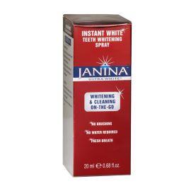 Janina Ultra White Instant White Teeth Whitening Spray 20ml