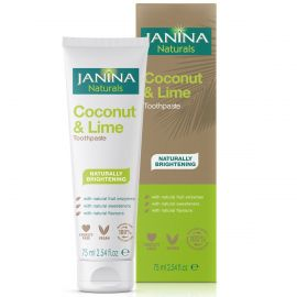 Janina Naturals Coconut and Lime Toothpaste 75ml