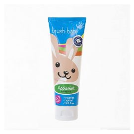 Brush-Baby Baby & Toddler Applemint Flavour Toothpaste (0-3 Years) 50ml