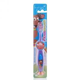 Brush Baby Flossbrush 6+ Years Toothbrush - Random Color