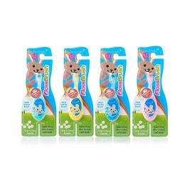 Brushbaby Flossbrush 0-3 Years Toothbrush - Random Color