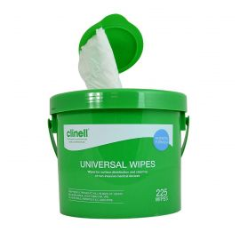 Clinell Universal Wipes - 225  Wipes Per Pack