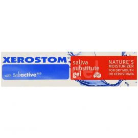 Xerostom With Saliactive Saliva Substitute Gel For Dry Mouth 25ml