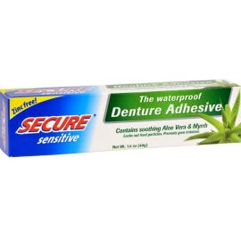 Secure Denture Adhesive Sensitive Aloe Vera -  40 g