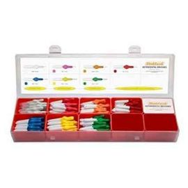 Stoddard Icon Antibacterial Clinic Box -  Contains 140 Brushes