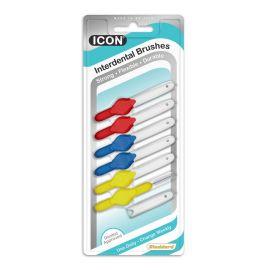 Stoddard Icon Standard Medium Trial Interdental Brushes - Pack Of 6