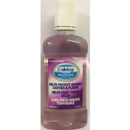 Endekay Fluoride Mouthrinse Alcohol Free 400ml