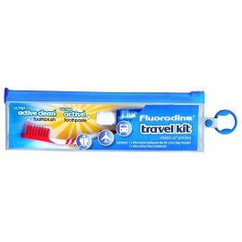 Fluoridine Travel Kit - Toothbrush And Paste ( 20 ml )