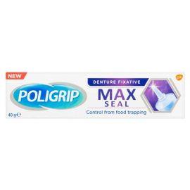 Poligrip Max Seal Denture Fixative 40g