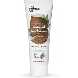 Humble Natural Toothpaste Coconut And Salt With Fluoride - 75 ml
