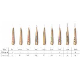 Humble Bamboo Interdental Brush -  8 Brushes Per Pack
