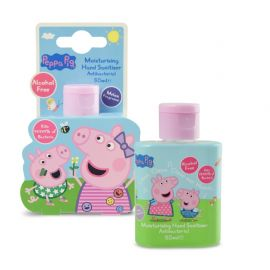 Peppa Pig Alcohol Free Antibacterial Hand Sanitiser - 50ml