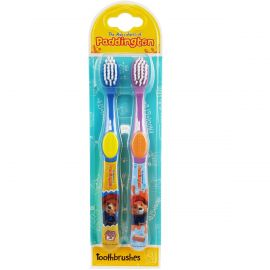 Paddington Bear Twin Toothbrushes