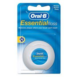 Oral-B Essentials Waxed Floss - 50m