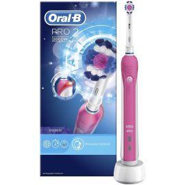 Oral-B Pro 2 Pink 2000W Electric Toothbrush