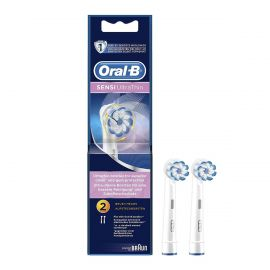 Oral-B Sensi Ultra Thin Two Replacement Head Toothbrush