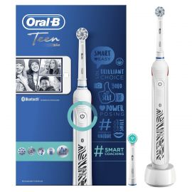 Oral-B Teen White Electric Rechargeable Toothbrush (13+Years)