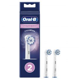 Oral-B EB602 Sensitive Clean Replacement Heads - Pack Of 2