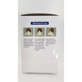 KN95 - Non Valved Face Mask Pack of 50