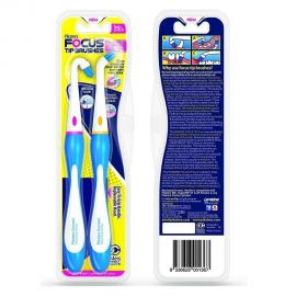 Piksters Connect Forward & Reverse Focus Brush - Twin Pack