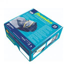 Piksters Foamies Clear Lens Medium - Blue - 50 Lens Per Pack