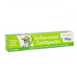 OraNurse Unflavoured Toothpaste (0 To 3 Years) - 50ml