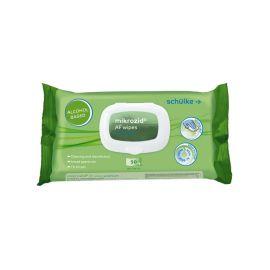 Schulke Mikrozid AF(Aldahyde Free) Alcohol Premium Wipes - Pack Of 50