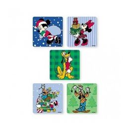 SmileMakers Mickey & Friends Xmas Stickers - 75 Stickers Per Pack
