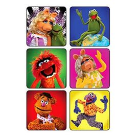 Shermans The Muppets Sticker - 100 Stickers  Per Pack
