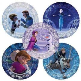 SmileMakers Disney Frozen Glitter Stickers