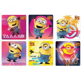 SmileMakers Despicable Me 3 Glitter Stickers - Pack Of 50 Stickers