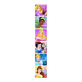 SmileMakers Disney Princess Glitter Stickers  - Pack Of 50