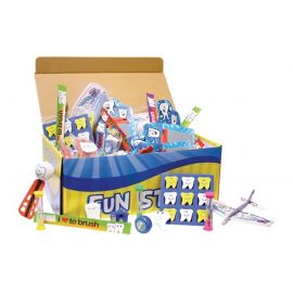 Sherman Dental Treasure Toy Chest - 150 Pieces Per Pack