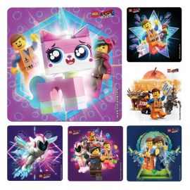Smilemakers Lego Movie Stickers - Pack Of 100