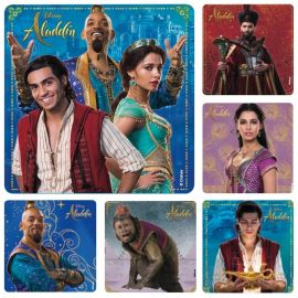 SmileMakers Disney Aladin Character Stickers - Pack Of 100