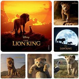 Smilemakers The Lion King Stickers - 100 Stickers Per Pack