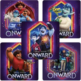 SmileMakers Onward Quest Stickers - Pack Of 100