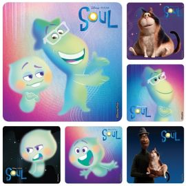 SmileMakers Soul Movie Characters Stickers - Pack Of 100