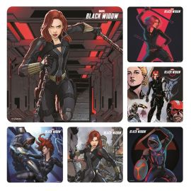 Smilemakers Black Widow Stickers - Pack Of 100
