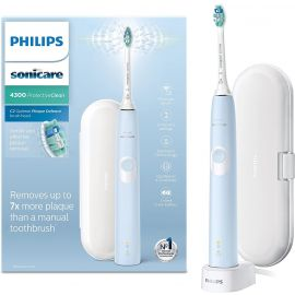 Philips Sonicare ProtectiveClean 4300 Electric Toothbrush - Light Blue