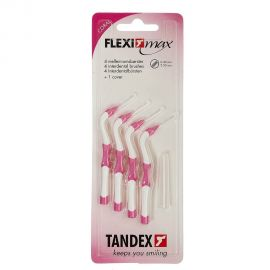 Tandex Flexi Max Coral Interdental Brushes 0.4mm - Pack Of 4